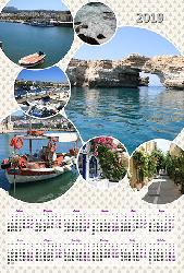 Календарь 2019 - Равновесие
